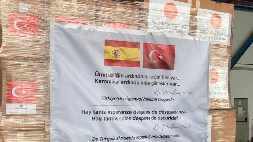 Mensaje de Turquía a España