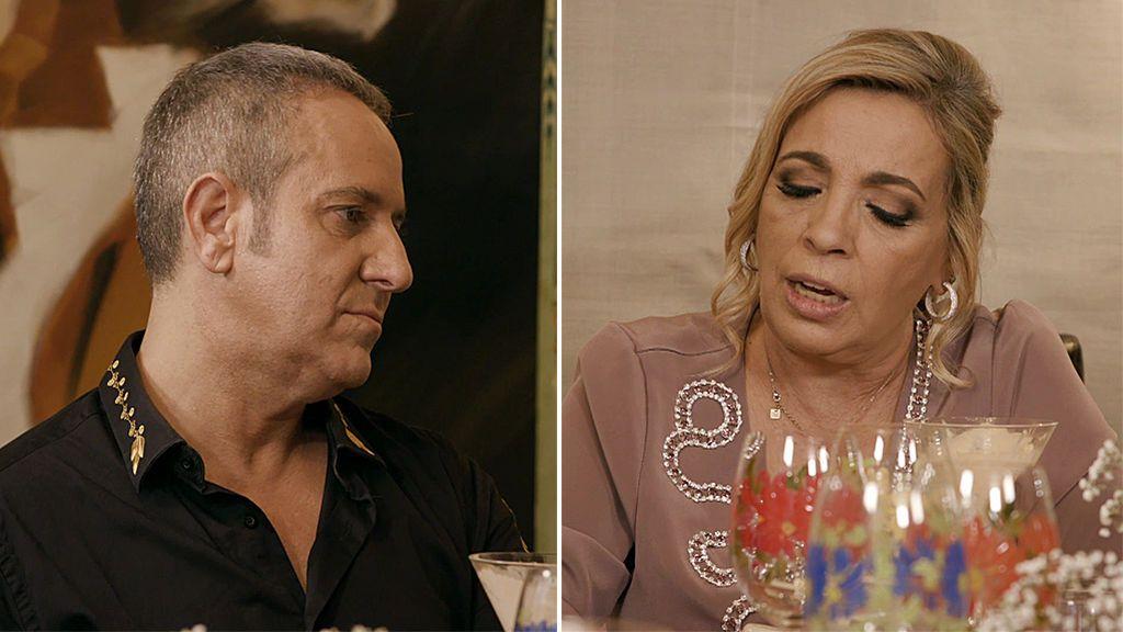 Carmen se amiga con Víctor Sandoval