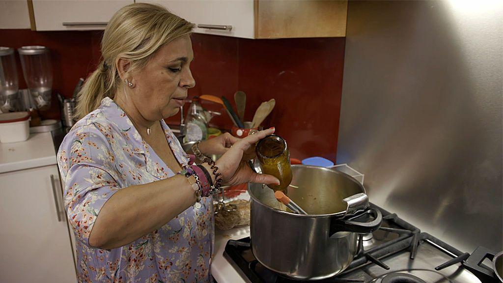 El sofisticado menú de Carmen Borrego