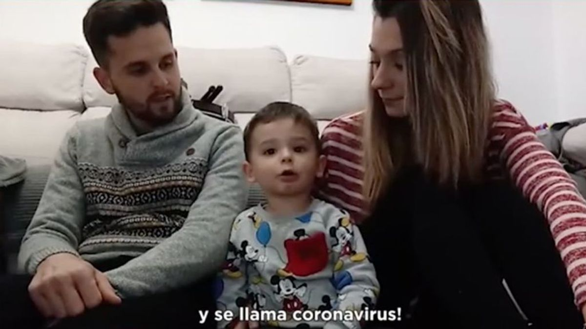 """La entrañable reacción de Hugo Molina al recibir un regalo """"por su santo y por portarse bien en la cuarentena"""""""