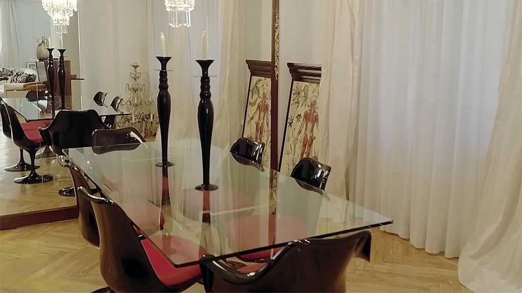 La lujosa casa de Carmen Borrego, foto a foto