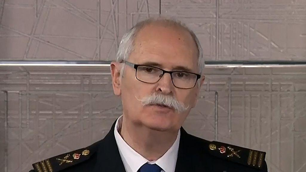 El comisario de la Policía Nacional José García Molina