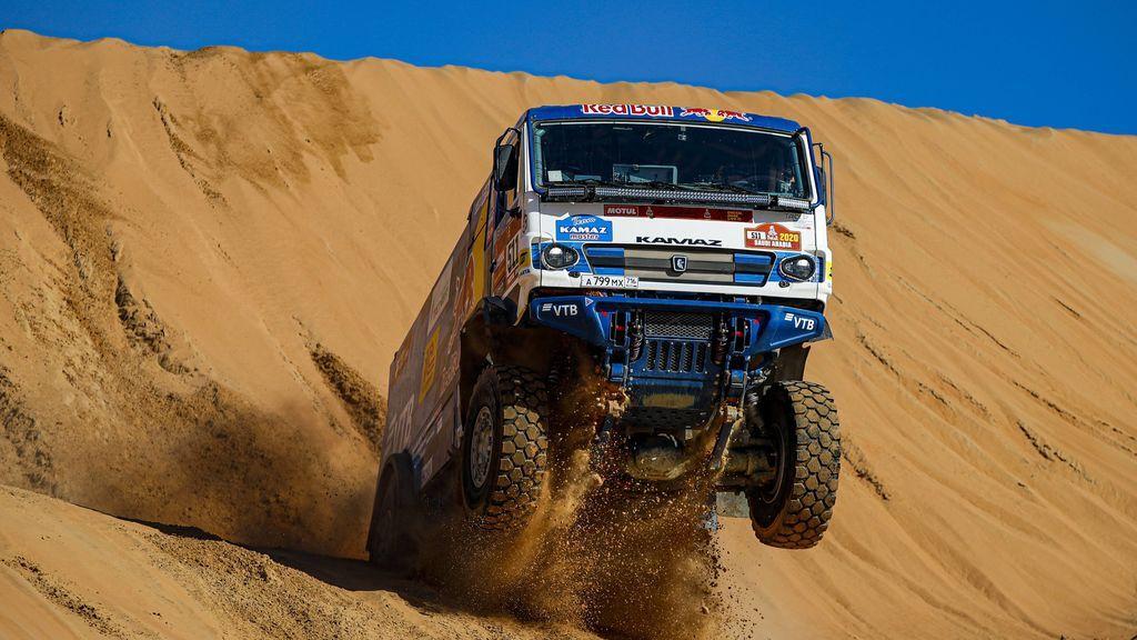 Camión en una de las etapas del Rally Dakar