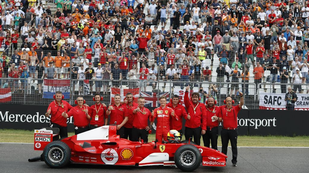 Ferrari, una de las escuderías de F1