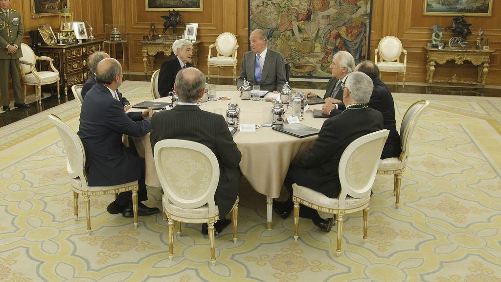 En esta sala se producen las tomas de posesión del Gobierno, entre otros actos