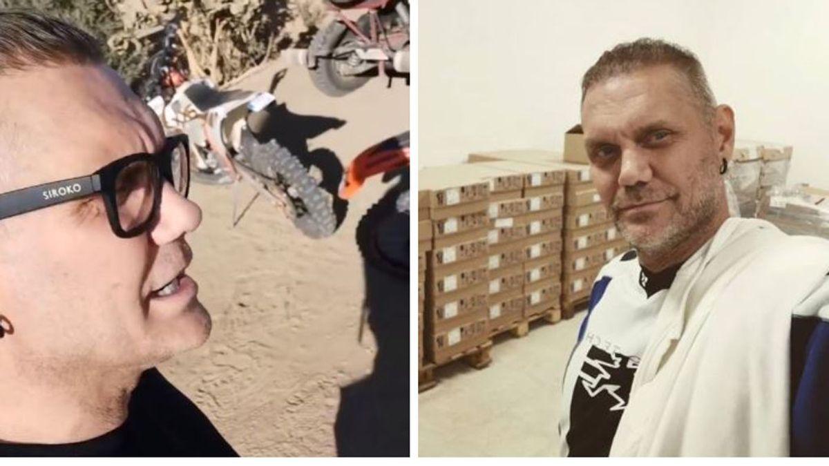 La nueva vida de Nacho Vidal: del cine para adultos, a prepararse para correr el Dakar