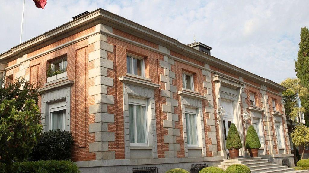 Así es el exterior del Palacio de Zarzuela