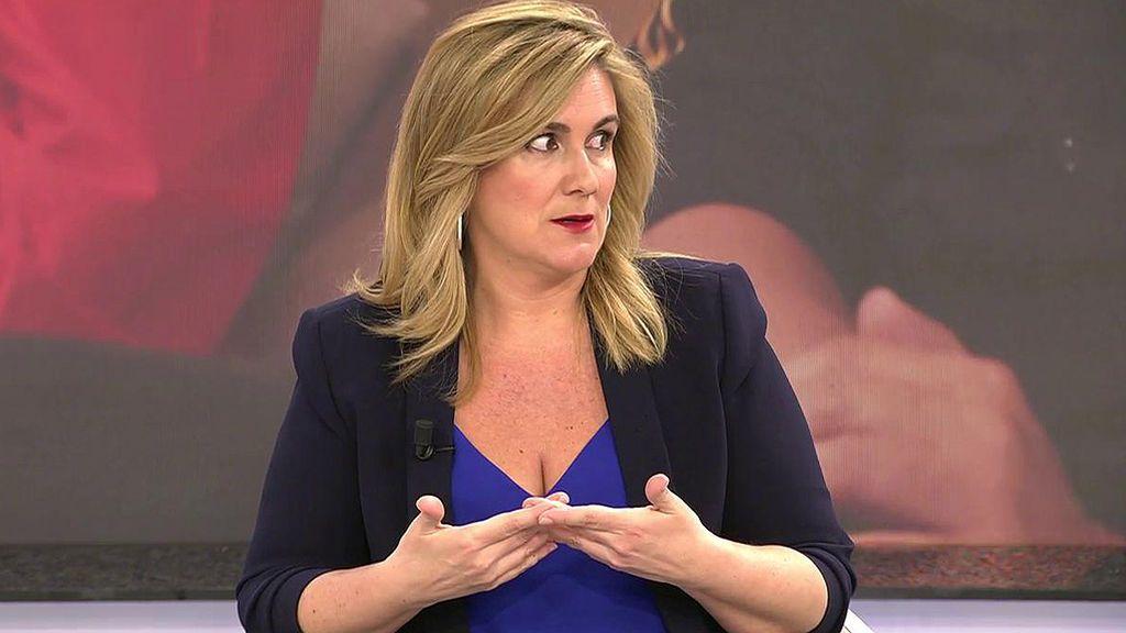 """Carlota Corredera, de Carmen Borrego: """"Me llama la atención que tengamos un sentido del humor diferente según el programa"""""""
