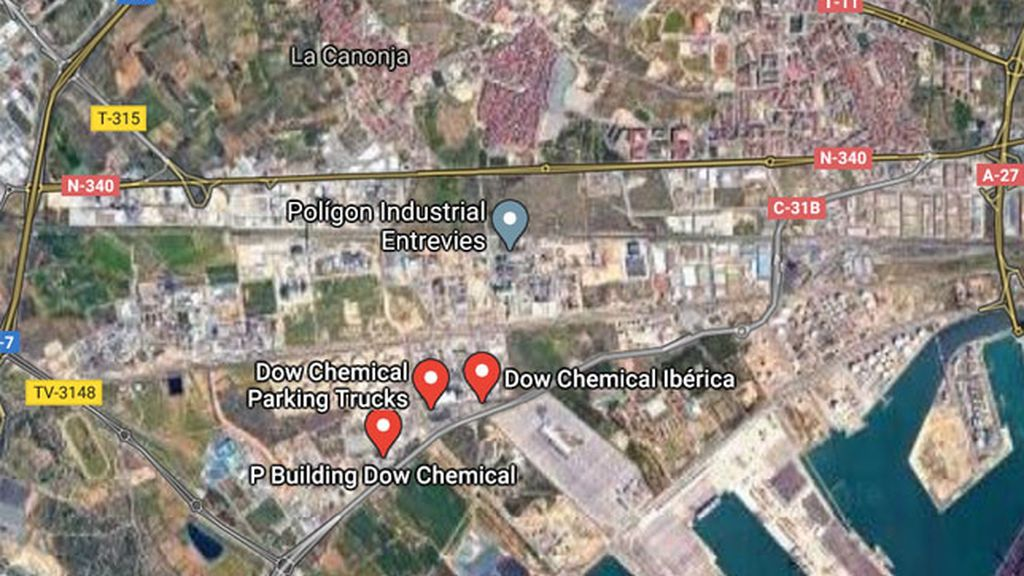 Activan la alerta por una fuga en una empresa química de Tarragona