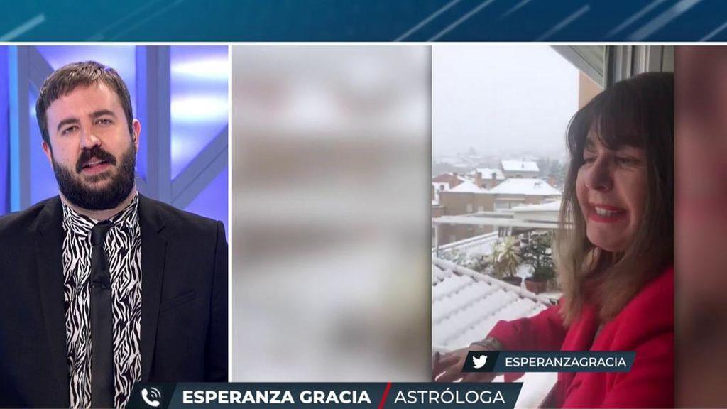 Esperanza Gracia pone luz y un toque de humor a la crisis del coronavirus en 'TEM'