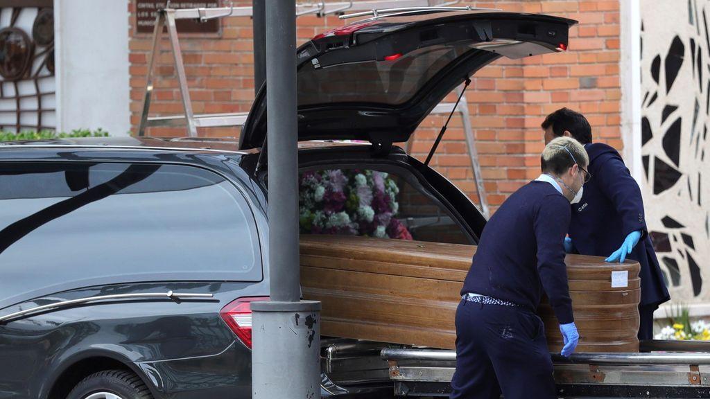 La funeraria de Madrid ha rechazado cremaciones por la  saturación del servicio ante el coronavirus