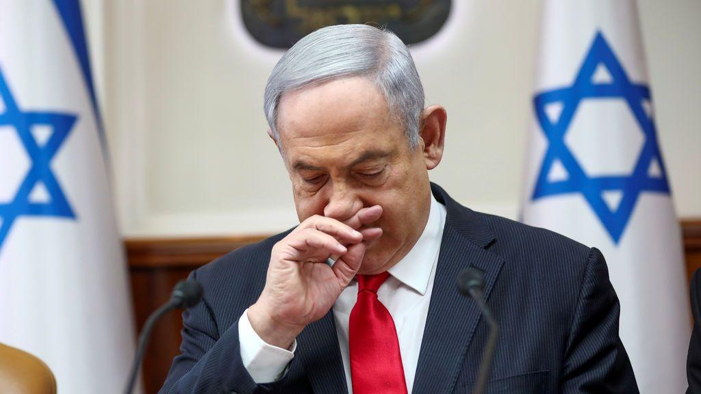 Netanyahu ordena llevar mascarillas en público como medida de protección frente al coronavirus