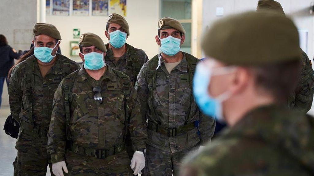 La cifras de la pandemia en las Fuerzas Armadas: 230 militares con coronavirus y más de 3.000 aislados