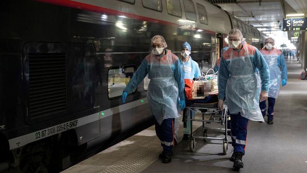 Tren medicalizado del operador público francés SNCF