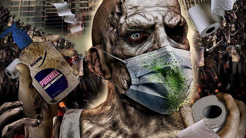Póster de 'Coronavirus Zombies'