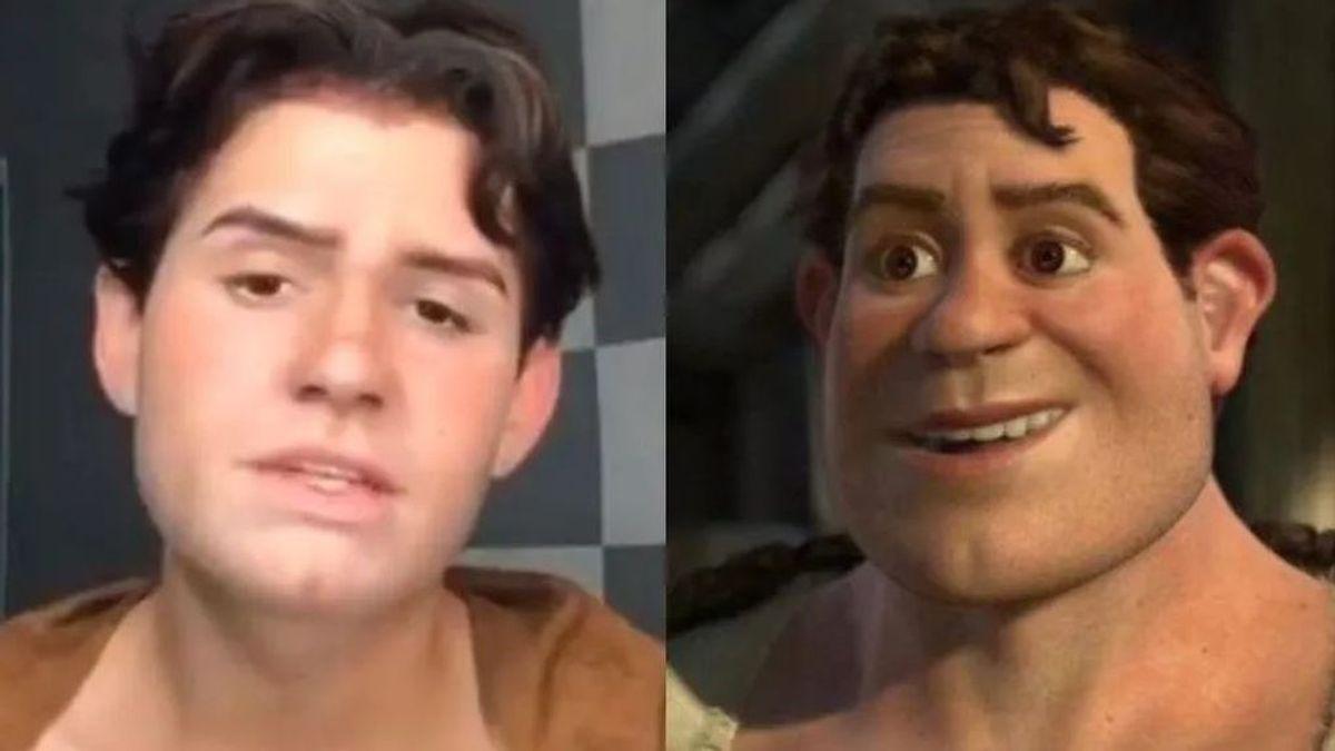Así es el Shrek humano que se ha hecho viral