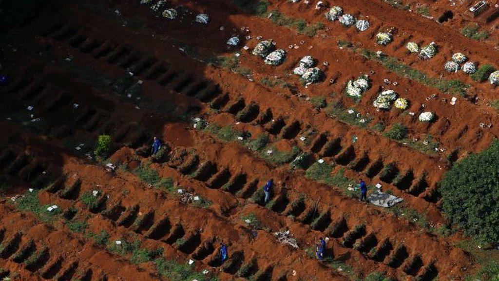 Brasil habilita miles de tumbas para los muertos que se espera por el  coronavirus