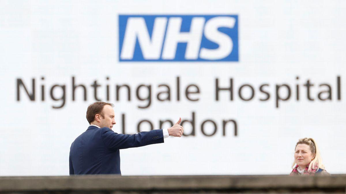 """Reino Unido cree que llegará al pico de contagios """"algo antes de lo esperado"""""""