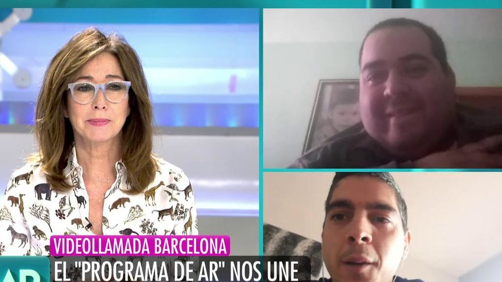 """Ana Rosa se convierte en cómplice de la sorpresa entre dos amigos: """"Tus amigos están apoyándote"""""""