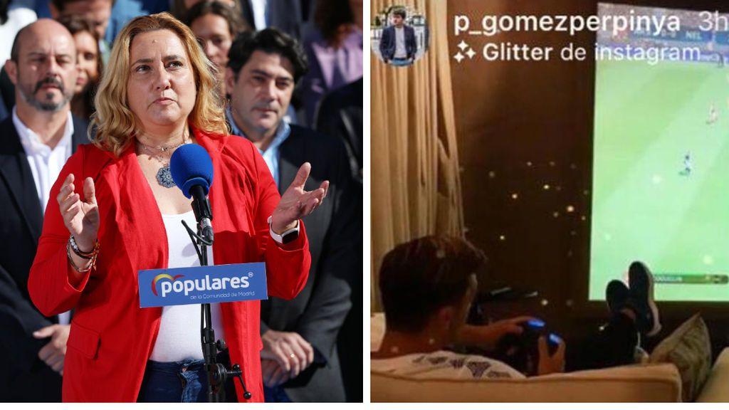 """Una diputada del PP intenta desacreditar a un diputado de Más Madrid por jugar al FIFA y lo confunde con Özil: """"Así trabaja la izquierda"""""""