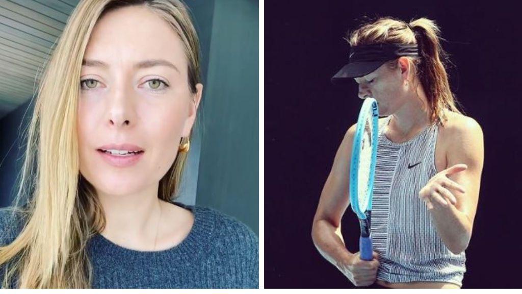 """Maria Sharapova publica su número de teléfono para hablar con los aficionados durante el confinamiento: """"Contadme lo que queráis"""""""