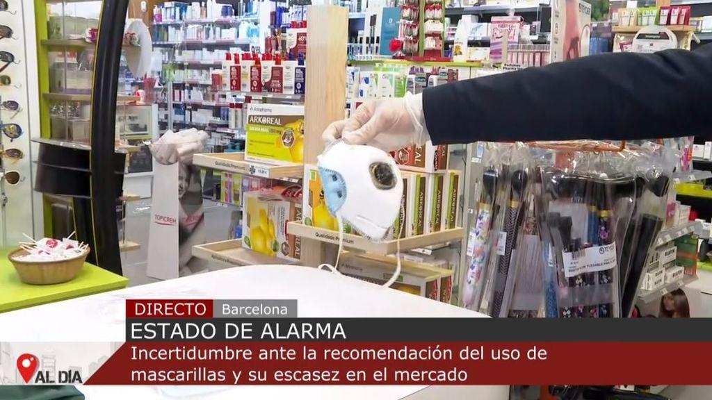 Qué mascarilla debemos comprar en la farmacia contra el coronavirus
