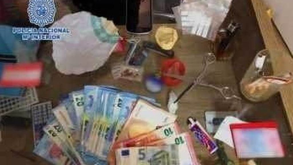 Tres jóvenes fingían ser repartidores de comida para distribuir droga en Valencia y Alicante