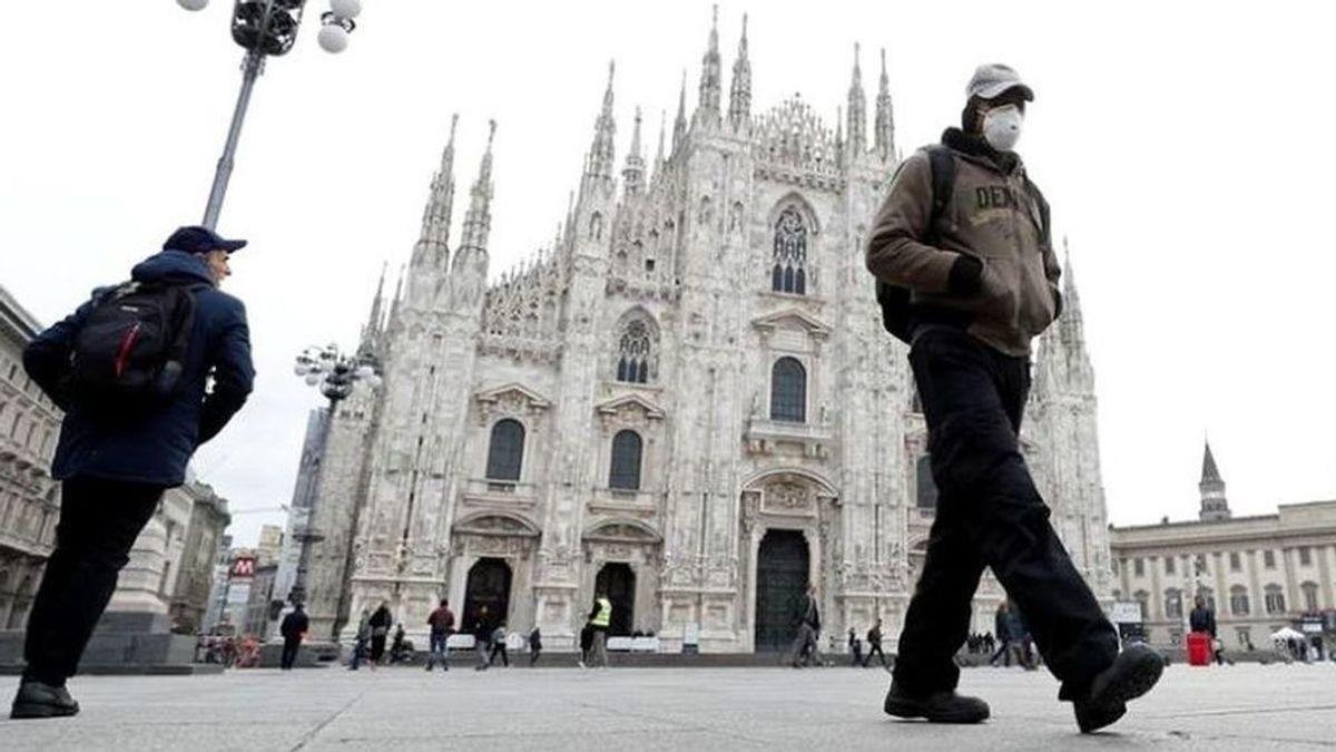 Italia registra 525 muertes en 24 horas,  la cifra más baja en dos semanas