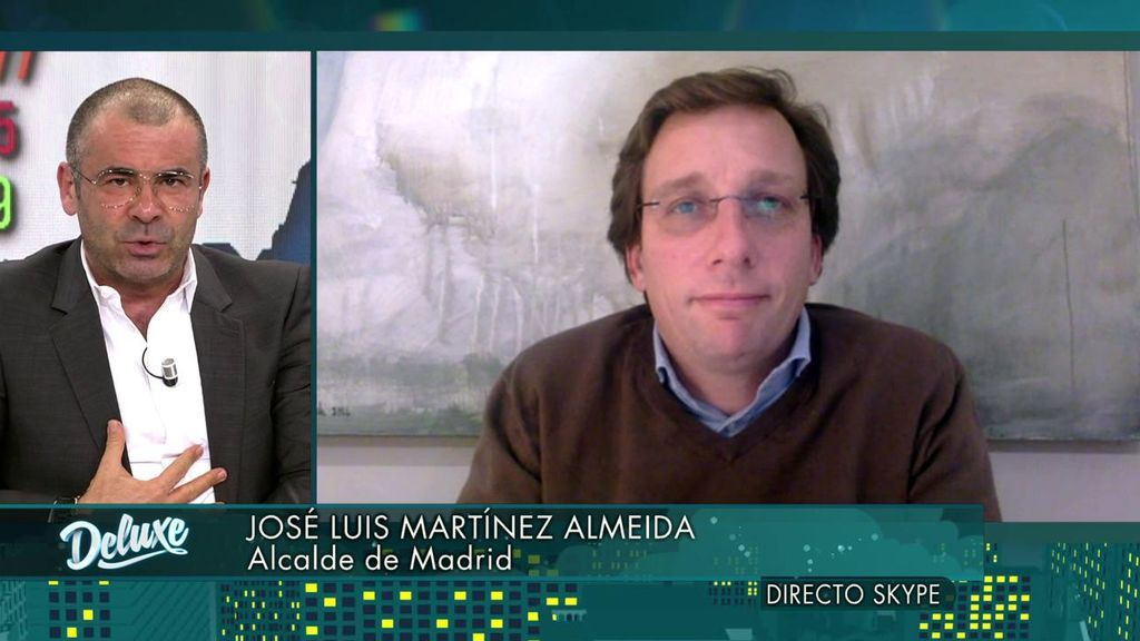 Jorge Javier confiesa estar sorprendido con Almeida