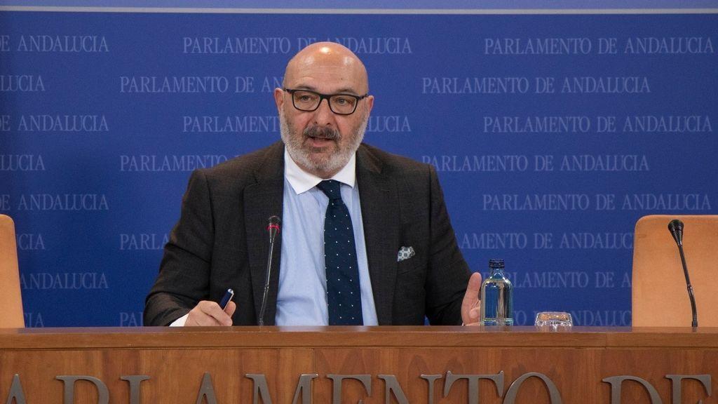 El portavoz de Vox en el Parlamento andaluz