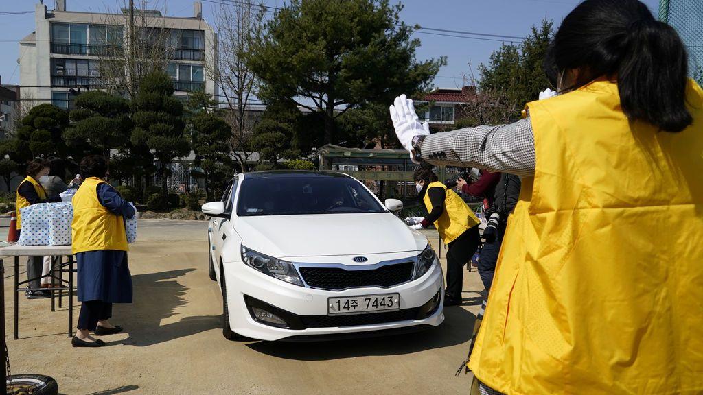Corea supera los 10.000 contagios