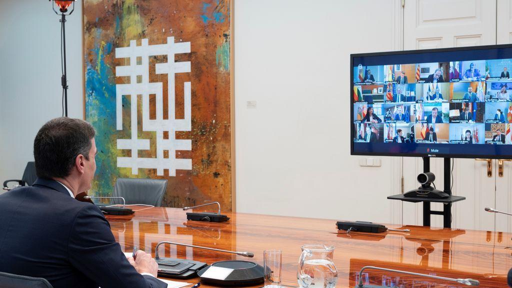 Las peticiones de los presidentes autonómicos a Sánchez en la reunión por videoconferencia