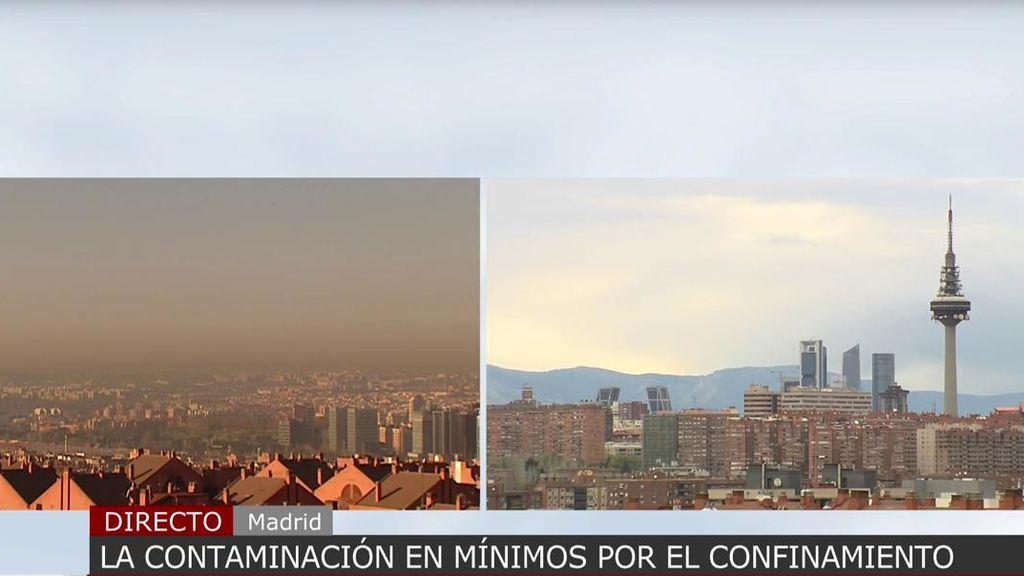 Histórico: desaparece la boina de contaminación de Madrid