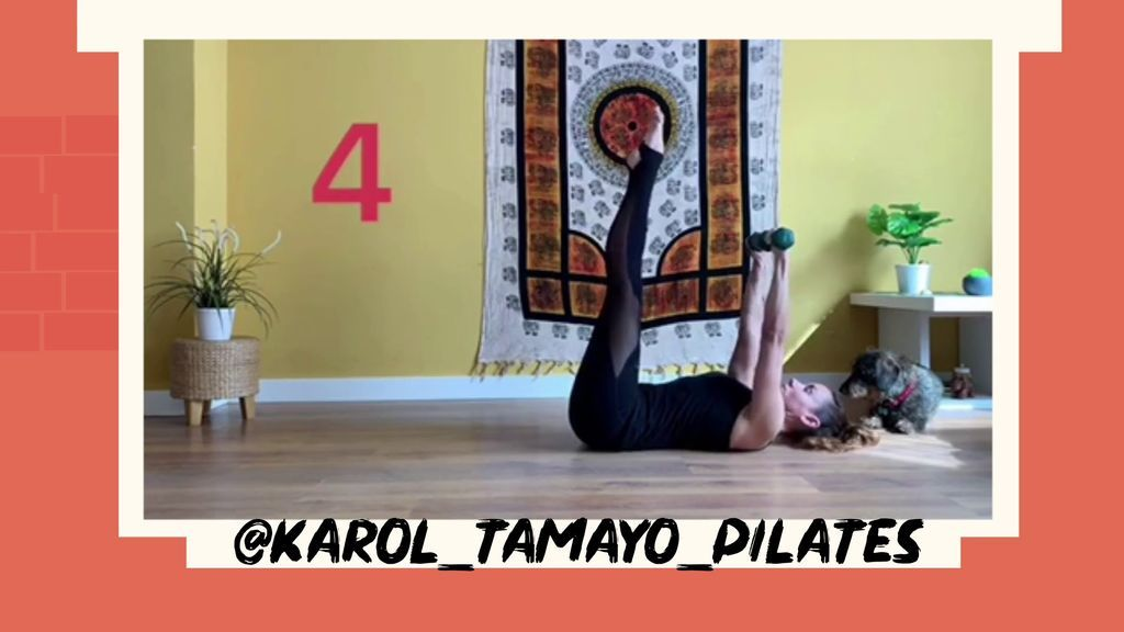 @KAROL_TAMAYO_PILATES prepara una serie de ejercicios para llenarte de energía por las mañanas