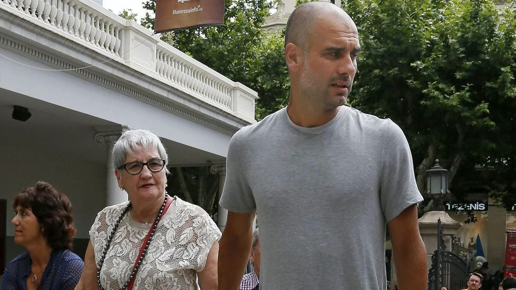 Luto en el mundo del deporte por la muerte de la madre de Guardiola