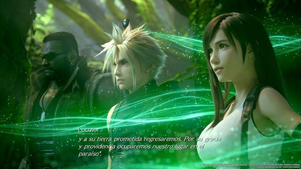 Análisis Final Fantasy VII Remake para PlayStation 4