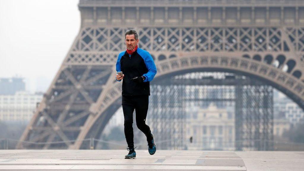 Paris prohíbe ahora salir a correr desde las 10:00 hasta las 19:00 hora