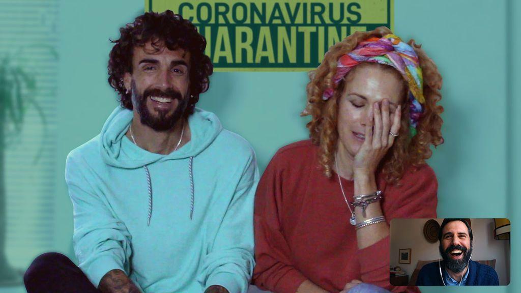 CONTIGOENCASA-7ABRIL-JUANMA Y AZAHARA