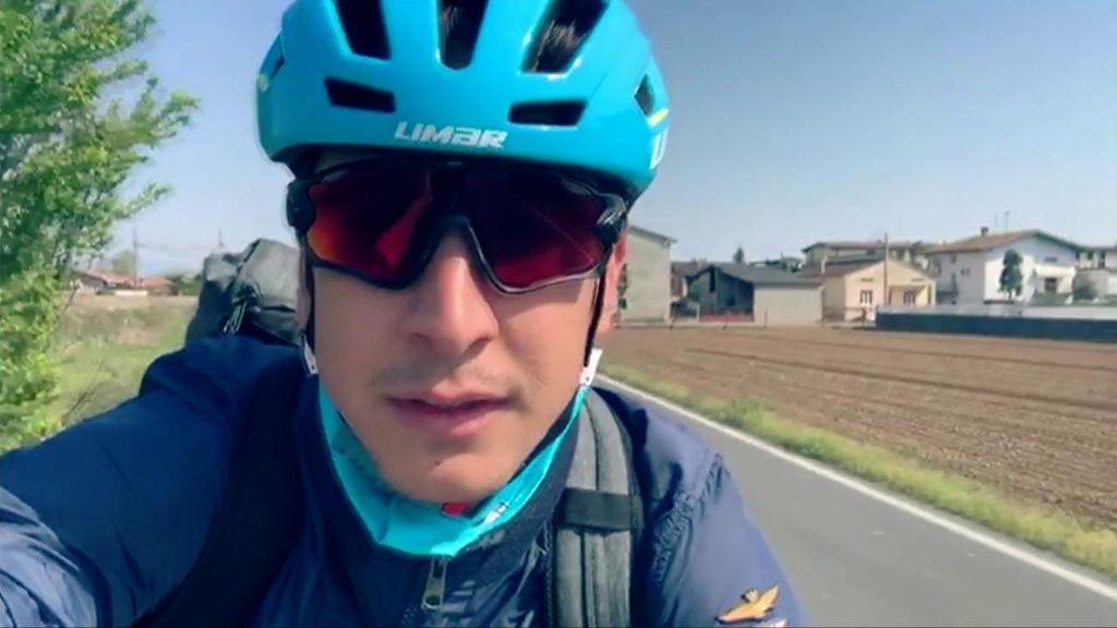 ciclista solidario