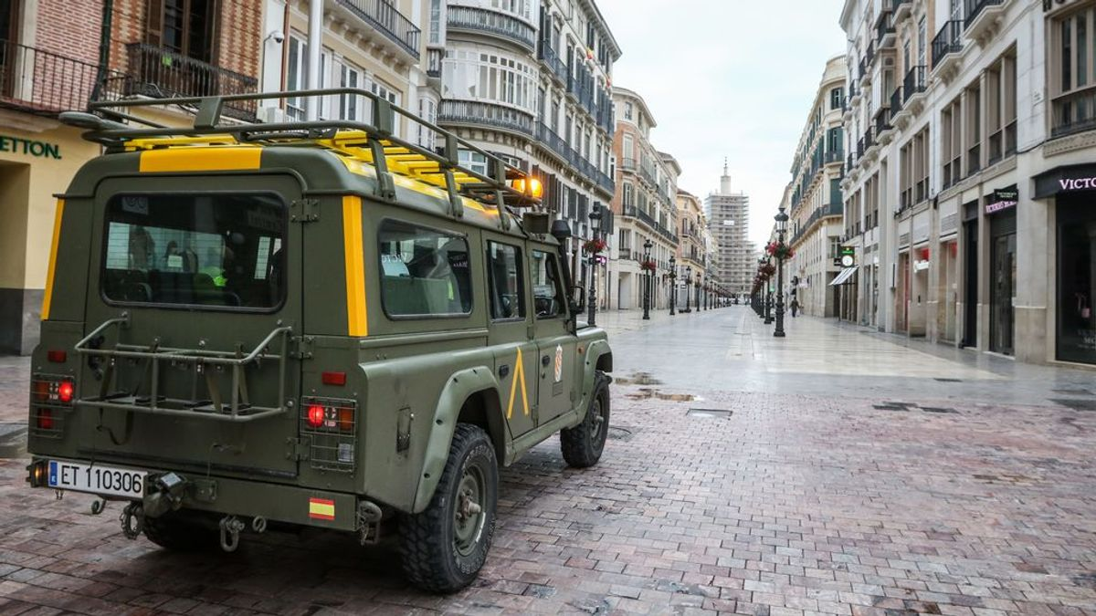 Guía para identificar los vehículos del ejército que estás viendo estos días