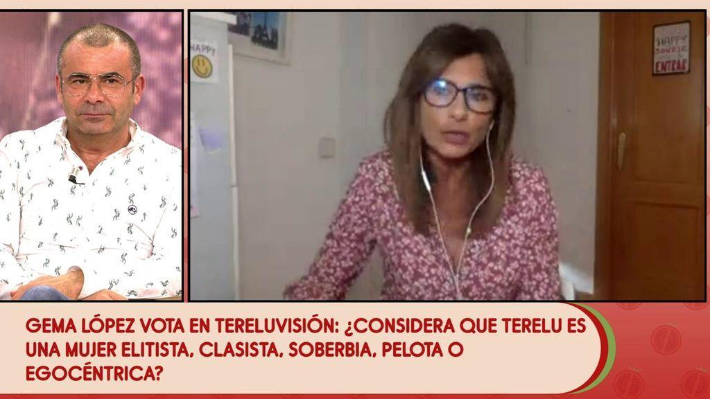 """Gema López: """"Terelu me dio una oportunidad pero eso no me ha impedido ser crítica con ella"""""""