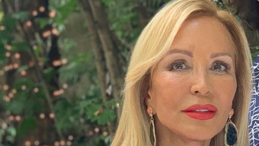 """Carmen Lomana comparte una instantánea de cuando tenía 23 años: """"Acepto el reto"""""""