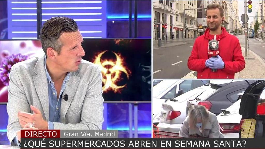 """Joaquín Prat regaña a García Juez por darse """"un pirulo"""": """"Tú tienes que ir del trabajo a casa"""""""