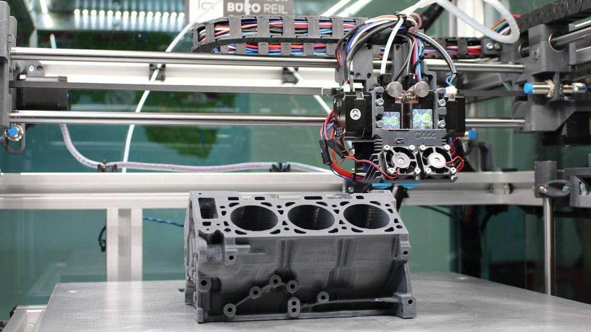 Impresión 4D: la nueva generación de impresoras