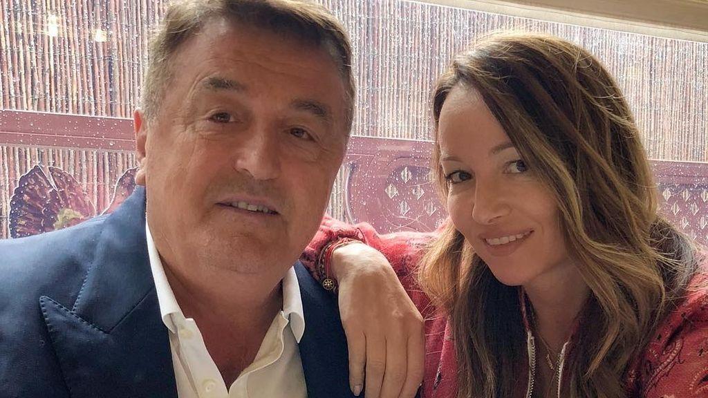 """Ana, la hija estilista de Radomir Antic, se despide de su padre: """"Sin palabras"""""""