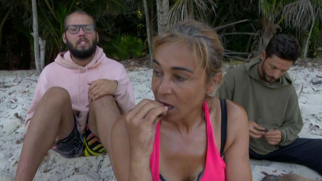 Ana María Aldón la toma con José Antonio Avilés y se niega a compartir los peces
