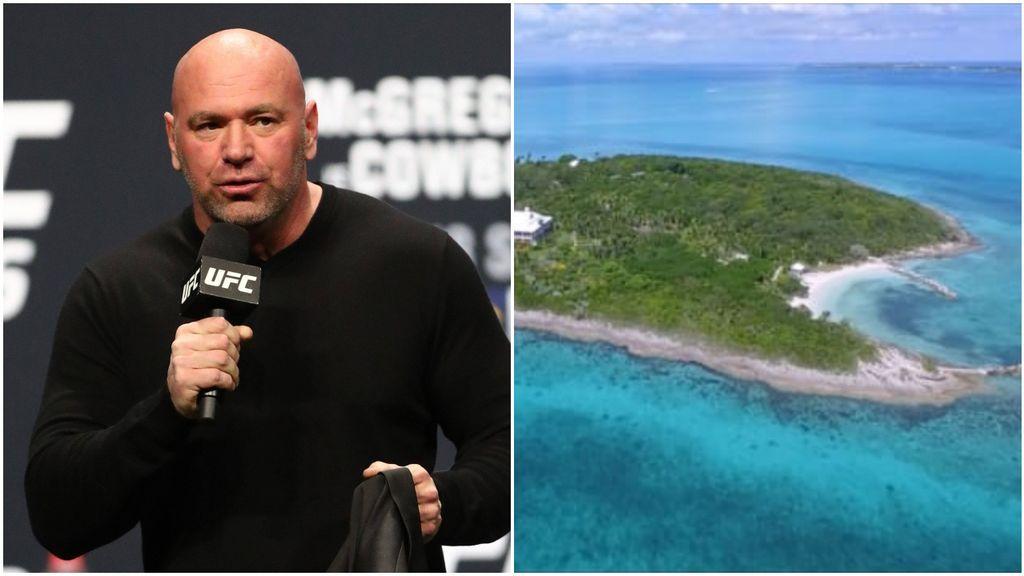 """La UFC encuentra una isla privada sin coronavirus para organizar sus combates: """"Nos encerraremos allí"""""""