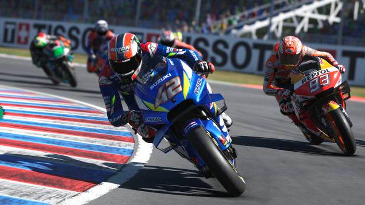 Esta es la parrilla de la segunda carrera virtual de MotoGP