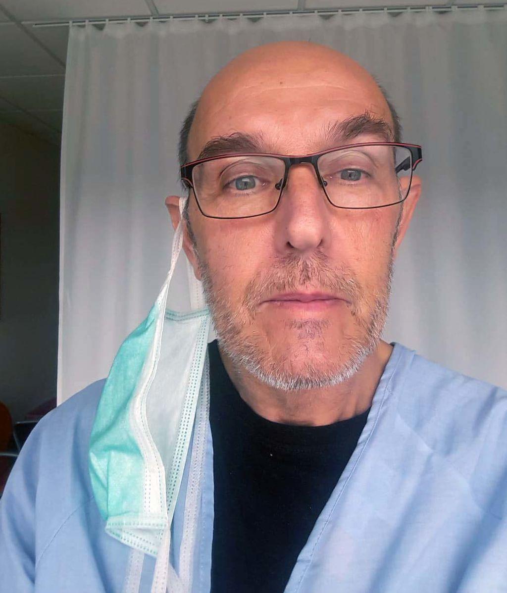 Gerardo en el hospital