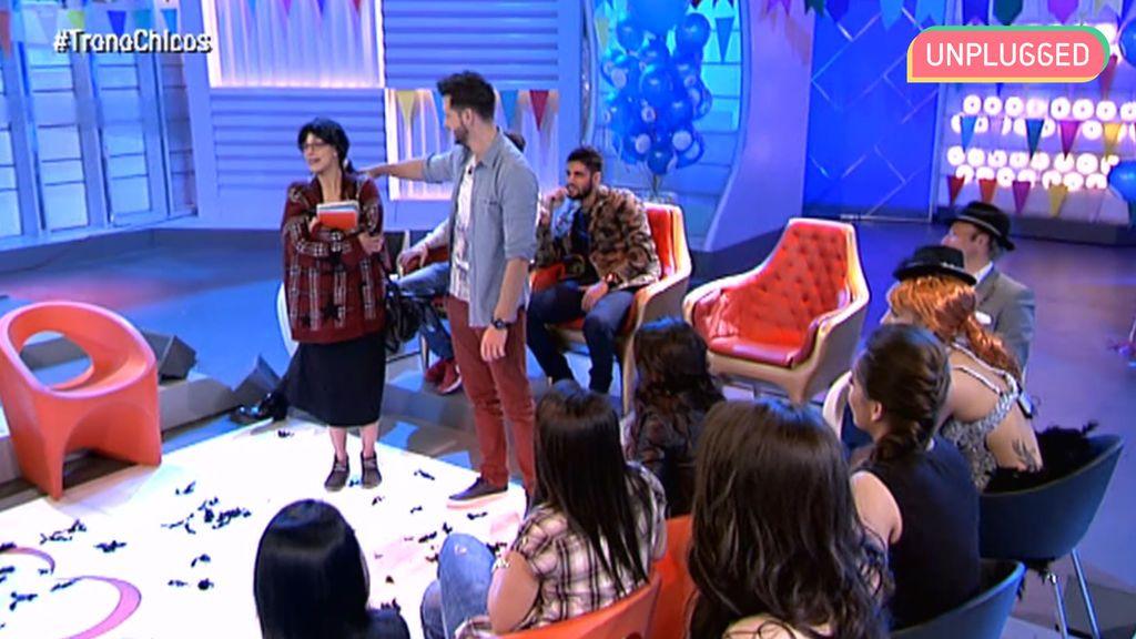 Susana haciendo un reto en 'MyH'